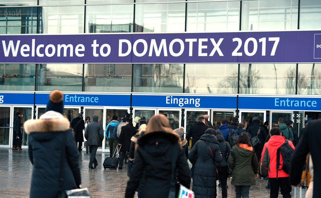 DOMOTEX 2017, 14. - 17. Januar