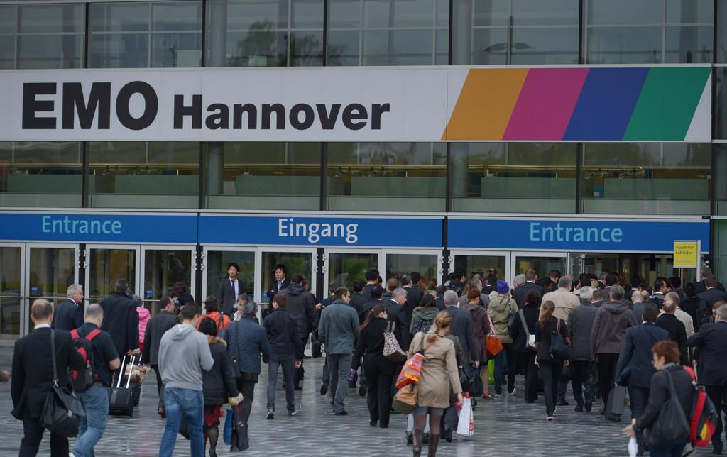 EMO Hannover 2013 (16. bis 21. September)